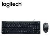 【logitech 羅技】MK200 有線鍵鼠組 【限量送束口收納袋】