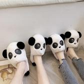 情侶棉拖鞋女冬季居家厚底防滑可愛外穿韓版月子保暖毛毛拖鞋男   koko時裝店