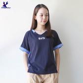 【秋冬降價款】American Bluedeer - 條紋V領上衣(特價) 秋冬新款