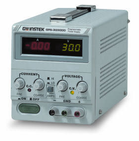 泰菱電子◆固緯直流電源供應器單組輸出GPS-3030DD TECPEL(贈DMM-113C*1)