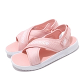 New Balance 涼鞋 NB 650 粉紅 白 女鞋 大童鞋 中童鞋 涼拖鞋 【ACS】 YO650AEM