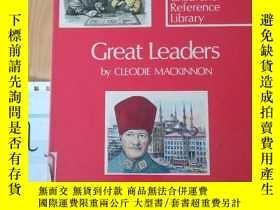 二手書博民逛書店Oxford罕見Children s Reference Library Great LeadersY1533