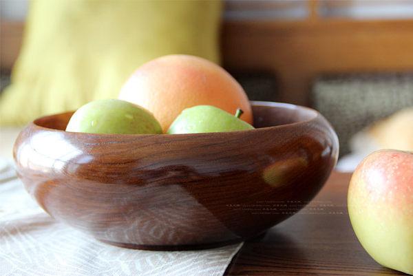 漆器 木制餐具 肚型碗