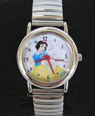 【卡漫城】白雪 公主 不鏽鋼 伸縮 錶帶 手錶 ㊣版 Snow White 卡通錶 女錶 迪士尼