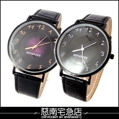 惡南宅急店【0364F】第一次邂逅‧韓 男錶女錶情侶對錶可『超薄美學』手錶‧單價