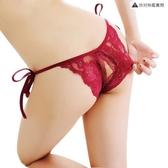 成人情趣內褲開襠綁帶丁字褲T褲【聚寶屋】