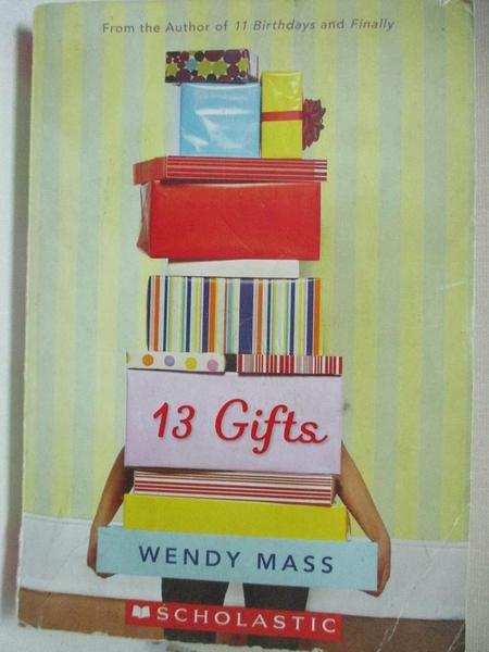 【書寶二手書T7/原文小說_GI1】13 Gifts: A Wish Novel_Wendy Mass