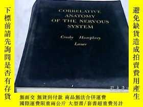 二手書博民逛書店神經系統相關解剖學罕見CORRELATIVE ANATOMY O