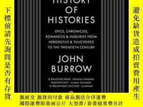 二手書博民逛書店A罕見History Of HistoriesY364153 John Burrow Penguin 出版2