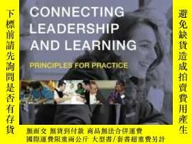 二手書博民逛書店Connecting罕見Leadership And Learn