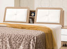 【森可家居】金詩涵5尺床頭箱 7ZX134-3 雙人白色 木紋質感 無印風 北歐風