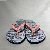 KANGOL 藍色圖騰 男女款 休閒 涼鞋 拖鞋 6122162455【KAORACER】