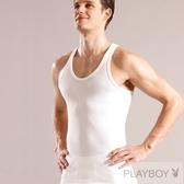 PLAY BOY 5件組台灣製100%時尚純棉羅紋細肩背心