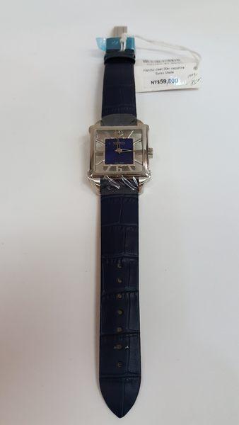 ROAMER-手動上鍊機械錶-黑面黑錶帶852/1000