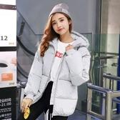 韓版冬季新款羽絨棉服面包服女短款蓬蓬學生棉衣棉襖加厚外套
