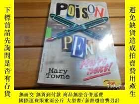 二手書博民逛書店POISON罕見PEN 毒的鋼筆Y20470 Mary Town