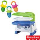 【奇買親子購物網】費雪牌 Fisher-Price寶寶小餐椅+Munchkin 水果棒/1入