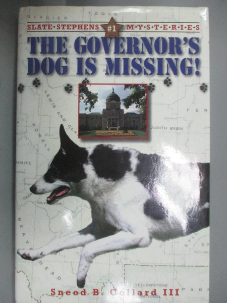 【書寶二手書T9/原文小說_LIH】The Governor's Dog Is Missing!_Collard, Sn