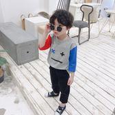 大碼新款小清新T恤 3色表情包男女童寶寶七分袖  LN5458【東京衣社】