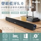 aibo 藍牙V5.0 USB聲霸雙聲道 單件式劇院環繞喇叭 ※商品體積過大無法超取,務必選擇(貨運/宅配)