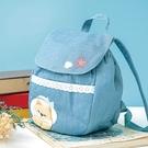 山莊小公主兒童後背包/手提包/拼布包包