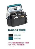 【聖影數位】TENBA 天霸 BYOB 10 CAMERA INSERT 包中袋(不含外套) 黑636-630 / 藍636-631