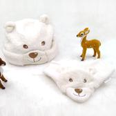 嬰兒帽 / 童帽 / 帽子圍巾組 -德國Sterntaler / 北極熊