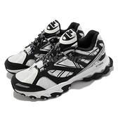 Reebok 越野跑鞋 DMX TRAIL SHADOW 白 黑 戶外風格 男鞋 休閒鞋 【ACS】 EF8819