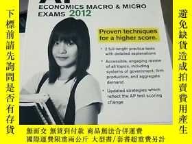 二手書博民逛書店CRACK罕見AP ECONOMICS 2012 ISBN:97
