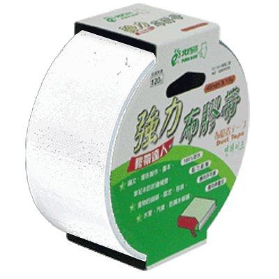【奇奇文具】北極熊 CLT4815W白色布紋膠帶 48mmX15Y