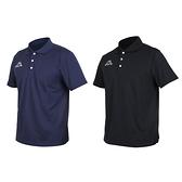 KAPPA 男短袖POLO衫(台灣製 高爾夫 吸濕排汗 網球 羽球 上衣 免運 ≡排汗專家≡