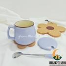 馬卡龍撞色早餐杯大容量可愛陶瓷水杯馬克杯【創世紀生活館】