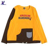 【三折特賣】American Bluedeer - 撞色抽繩上衣(特價)  秋冬新款