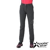 PolarStar 女 彈性吸排UV機能長褲『炭灰』P21362 戶外 休閒 登山 露營 運動褲 釣魚褲
