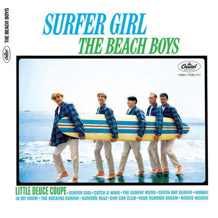 海灘男孩合唱團 衝浪女孩 CD 2012新裝版 (音樂影片購)