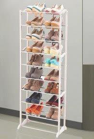 高強度鞋架 組合式鞋架 簡易鞋櫃 白色多層(只能宅配) 219元