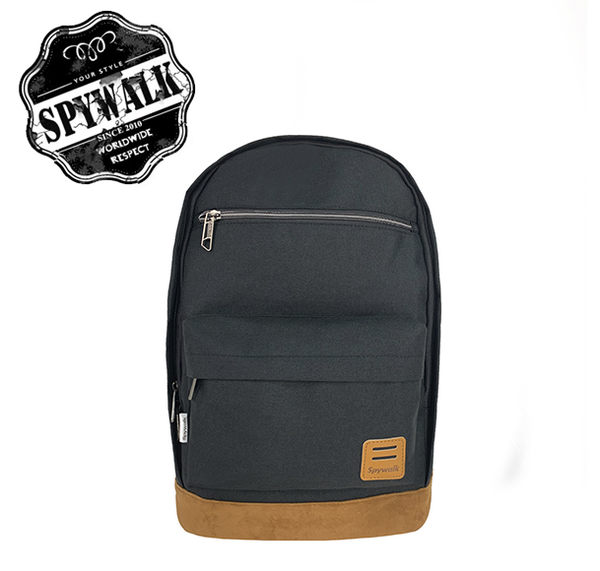 SPYWALK 簡單休閒四色後背包 內附水壺袋 附簡易耳機孔 NO:S9135
