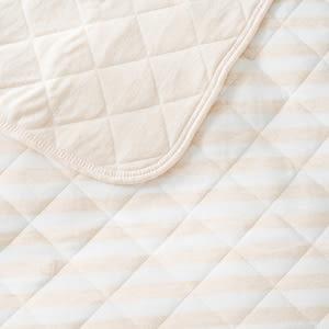 竹節棉親膚針織涼被150x200cm 米