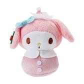 Sanrio 美樂蒂 Q版手心尺寸迷你造型玩偶(聖誕老人版)★funbox★_256382N