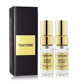 TOM FORD 私人調香系列-白麝香+嫣紅檀香香水(4mlX2)[含外盒] EDP-航版