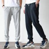男士夏季束口運動褲男長褲寬鬆加大碼收口小腳褲學生健身訓練衛褲 多莉絲旗艦店