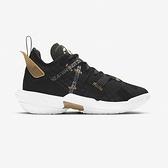 Nike Jordan Why Not Zer0.4 PF (GS) 大童 黑 金 運動 籃球鞋 CQ9430-001