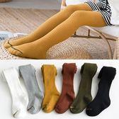 兒童連體跳舞襪褲春秋純棉女童打底褲襪1薄款2-3-4歲女寶寶連褲襪