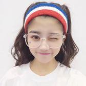 韓國時尚復古方形眼鏡框原宿學生個性簡約潮流百搭透明白色平光鏡·皇者榮耀3C旗艦店
