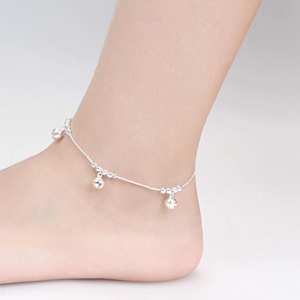 腳鍊女性感愛心韓版簡約鈴鐺