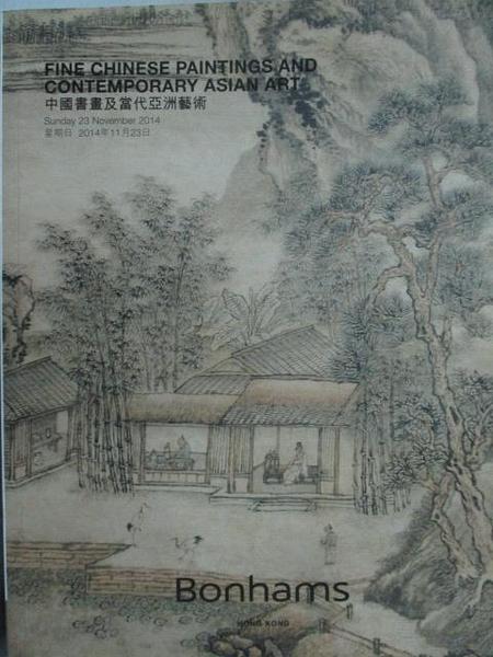 【書寶二手書T7/收藏_QIR】Bonhams_Fine Chinese Painting…Art_2014/11/23