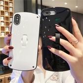 蘋果手機殼簡約潮牌橢圓【聚寶屋】