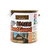 日本 ASAHIPEN 室外強力木品防蟲防腐防霉 柚木 護木漆 0.7L