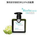 【植草遇Herbs IN】薄荷舒涼頭皮淨化SPA洗髮露 250ML(短效出清)
