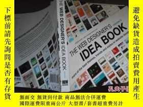 二手書博民逛書店THE罕見WEB DESIGNERS volume2:IDEA